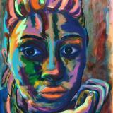 2018-2014   Rainbow Goddess  Paintings